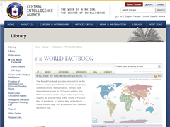 CIA : The World Factbook